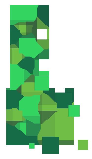 Pixels Verdes